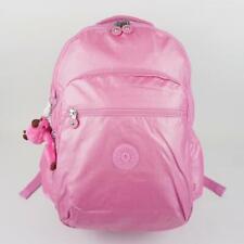 KIPLING SEOUL GO Large Laptop Backpack Prom Pink Metallic
