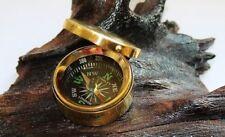 Kompass maritim mit Deckel Ø: 3,5 cm Höhe 1,5 cm Messing