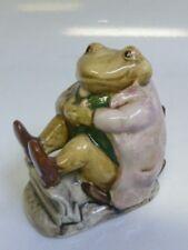 Beatrix Potter Mr. Jackson Figurine By Beswick BP-3b - Brown Toad