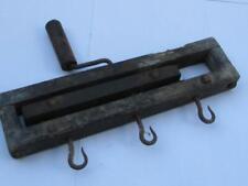 More details for antique wooden hand crank rope winder / maker - buy it now