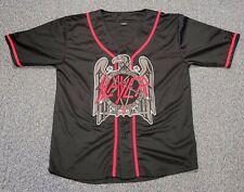 Slayer Band Baseball Jersey Shirt Official Vintage 3Xl Mint New Condition Xxxl