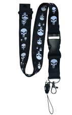 Punisher ID Lanyard - With Breakaway Clip - New