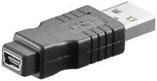 USB 2.0 Hi-Speed Adapter; USB ADAP A-M/MINI-B 5 PIN-F