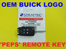 Genuine SEALED 2010 - 2017 GM Buick Switchblade Flip Key Remote PEPS 5912559 NEW
