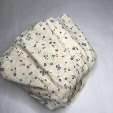 Classic Winnie The Pooh Crib Skirt Dust Ruffle Disney Nursery Baby Vtg