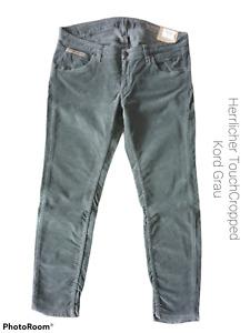 Herrlicher Touch Cropped Cord Damen Jeans+Neuware