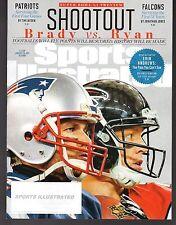 2017 Sports Illustrated New England Patriots Tom Brady Atlanta Falcons Matt Ryan