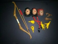 Marvel Legends Dani Moonstar Karma Wolfsbane Heads Hands and Weapons ONLY
