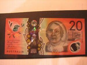 2019 Lowe/Fraser $20 low serial numbered General Prefix banknote, AF19