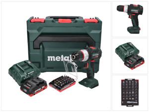 Metabo SB 18 LT BL Akku Schlagbohrschrauber 18 V 75 Nm + Akku + Lader + Bit Set
