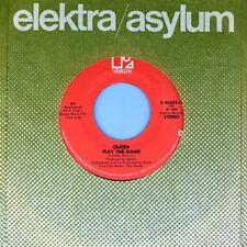"7"" QUEEN Play The Game / A Human Body FREDDY MERCURY Rock ELEKTRA US-Press 1980"