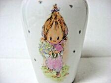 1976 Betsey Clark tall vase Hallmark 6 inches