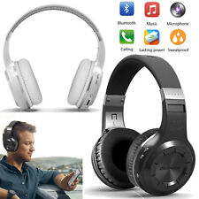 Over Ear Stereo Bluetooth Headset Headphone Earphone For Gaming Samsung iPhone
