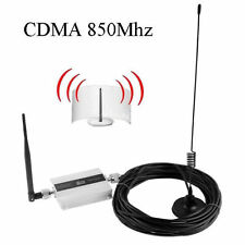 LCD GSM 850Mhz Mobile phone Signal Booster Cellular Repeater Amplifier Antenna