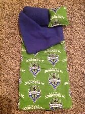 Wellie Wishers/Barbie Seattle Sounders Sleeping bag/pillow American Girl 14 doll