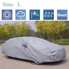 L Car Full Cover Waterproof Breathable UV Snow Dust Rain Resistant Protection