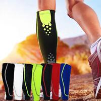 KE_ 1x Compression Calf Wrap Shin Splint Support Sport Gym Running Sleeve Brac