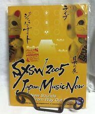 SXSW 2005 Japan Music Now w/ CD Sampler Inside! Sealed! Never Opened! Limited Ed