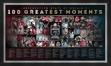 State of Origin 100th Test Greatest Moments Sportspint Queensland V NSW LE Frame