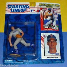 1993 KEVIN BROWN Texas Rangers Rookie - low s/h - Starting Lineup Kenner