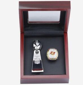 2020 2021 Tampa Bay Buccaneers BRADY Team Ring trophy Set Souvenirs Fan Men Gift