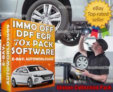 Expert Software Kit IMMO OFF 70x Remove EGR DPF FAP ECU VIRGIN OBD2