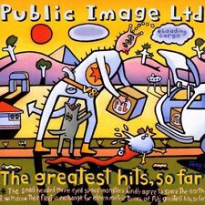 Public Image Limited Greatest hits, so far (1990) [CD]