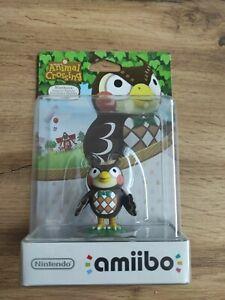 Nintendo - amiibo - Animal Crossing - Blathers - Eugen - OVP / NEU