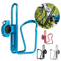 Cycling Bike Bicycle Aluminum Alloy Handlebar Water Bottle Holder Cages Hook New
