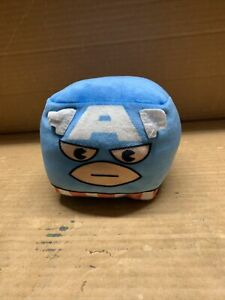 Cubd Collectibles Soft Plush Stuffed Cube  - New - Marvel Captain America
