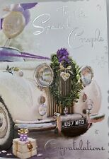 Wedding Day Wishes To SpecialCouple ~ Weddng Day Card ~ Luxury Card ~ Made In UK