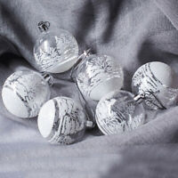 Christmas Ball PVC Baubles Hanging Fillable Xmas Tree Wedding Decor Ornaments