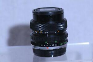 Olympus Zuiko Auto-Zoom 35-70mm F3.5-4.5 Lens with Caps
