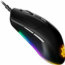 SteelSeries - Rival 3 Wired Optical Gaming Mouse with Brilliant Prism RGB Lig...