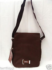 CERRUTI SI Mens Brown Canvas shoulder / messenger bag BNWT