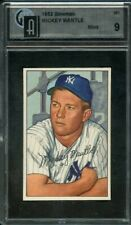 1952 BOWMAN 101 MICKEY MANTLE GAI MINT 9  Possible PSA Crossover New York Yankee