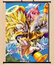 Anime Rolling Poster Wallpaper Dragon Ball Z Dragon Ball DBZ Home Decorations