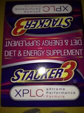 Stacker 3 XPLC 1ct 20 Pills Weight Loss & Energy Supplement New Sealed Exp 12/17