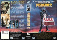 PREDATOR 2 (1990) vhs ex noleggio HORROR