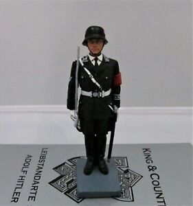 LAH24 King And Country Waffen SS Officer at Attention Retired NEW