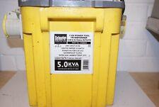 Defender 5.0KVA Site Transformer 110V Twin Outlet 16 AMP And Single 32AMP