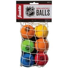 "Franklin Sports 6 Pack Mini Eva Foam Knee Hockey 2"" Diameter Balls, Multi Color"