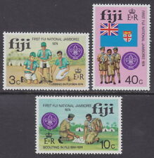 FIJI - 1974 First National Scout Jamboree (3v) - UM / MNH