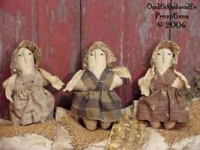 Primitive Prairie Doll in Ditty Bag Harvest Doll Paper Pattern