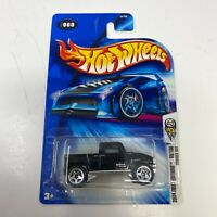 Hot Wheels 2004 First Editions #060 Hot 100 Hummer H3T C2753 - Black