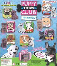 10 x Random Puppy Club (Series 3) Mini Tins & Puppy Figurines, Party Bag Fillers