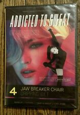 NEW Addicted to Sweat 4: Jaw Breaker Chair (DVD, 2012, Hard Candy Fitness)
