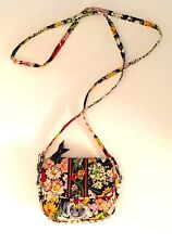 VERA BRADLEY Little Hip Bag Crossbody Belt Bag - POPPY FIELDS