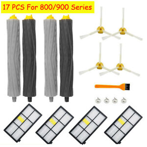 17Pcs For iRobot Parts - Roomba 800 & 900 Series Replacement Kit 870/880/960/980