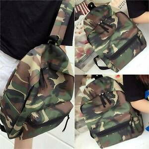 Unisex Military Army Camoflage Backpack School Bags Rucksack Campus Laptop Bag